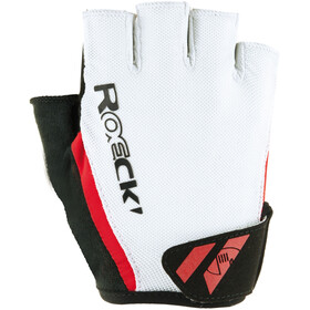 Roeckl Ilio Gants, white/red